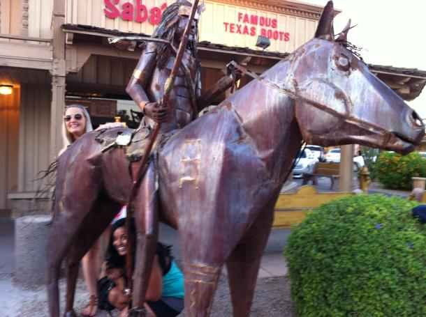 Katie Sabrina Old Horse