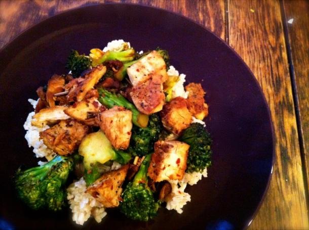Broccoli Coconut Oil Stir Fry