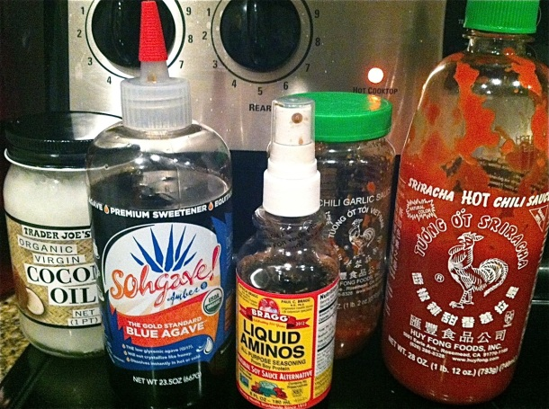 Stir Fry Sauce Ingredients