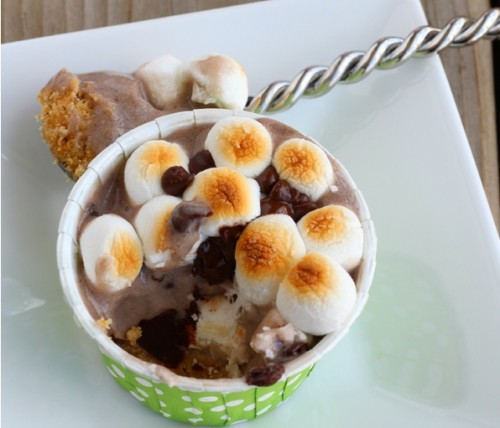 Arctic Zero S'mores Cup Recipe