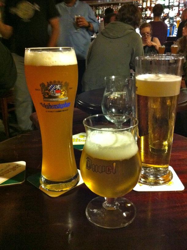Cellar Bar St. Andrews Beers
