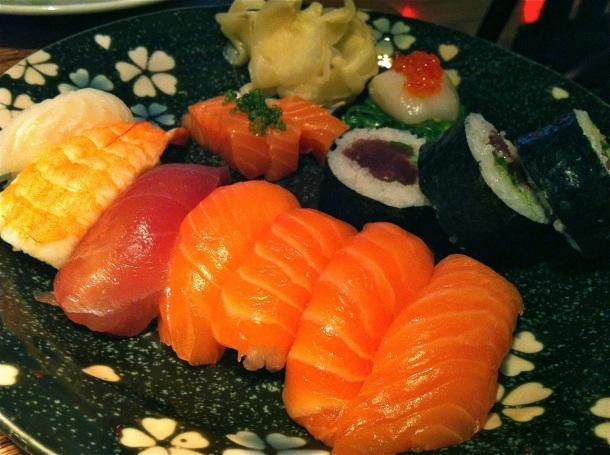 Fish Market Iceland Lunch Sushi