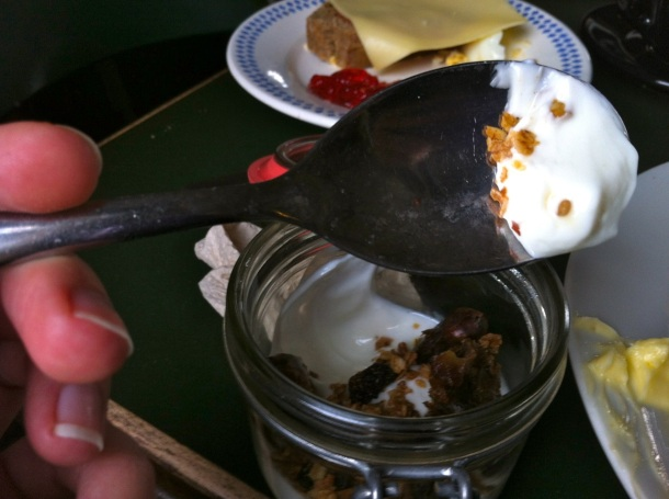KEX Hostel Breakfast Skyr