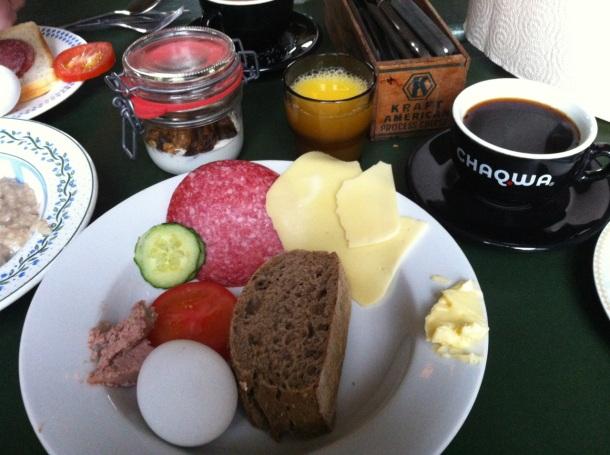 KEX Hostel Breakfast