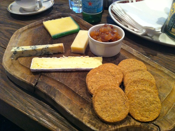 Mitchell's St Andrews Cheese Trolley