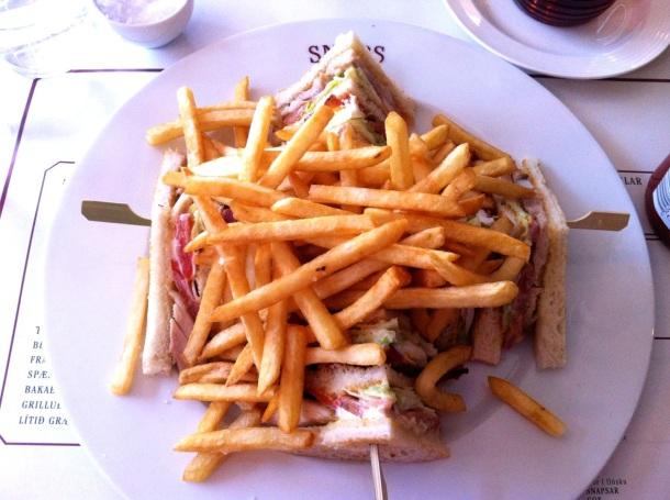 Snaps Club Sandwich