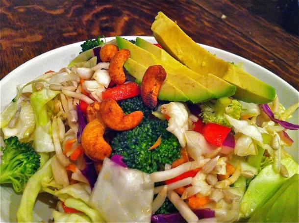 Cruciferous Cashew Detox Salad