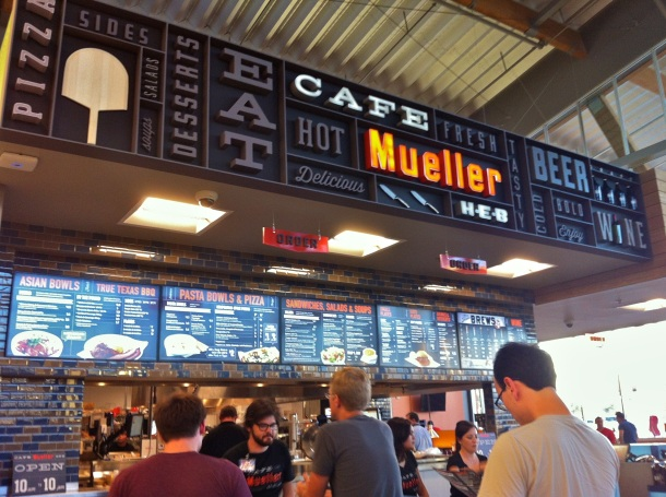 Mueller HEB Cafe Counter