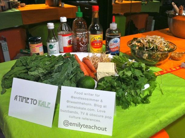 Kale Salad Recipe Demo kor180