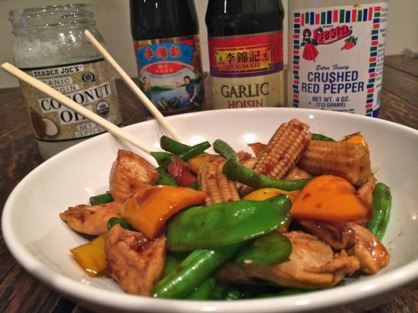 Sweet and Spicy Coconut Oil Stir Fry