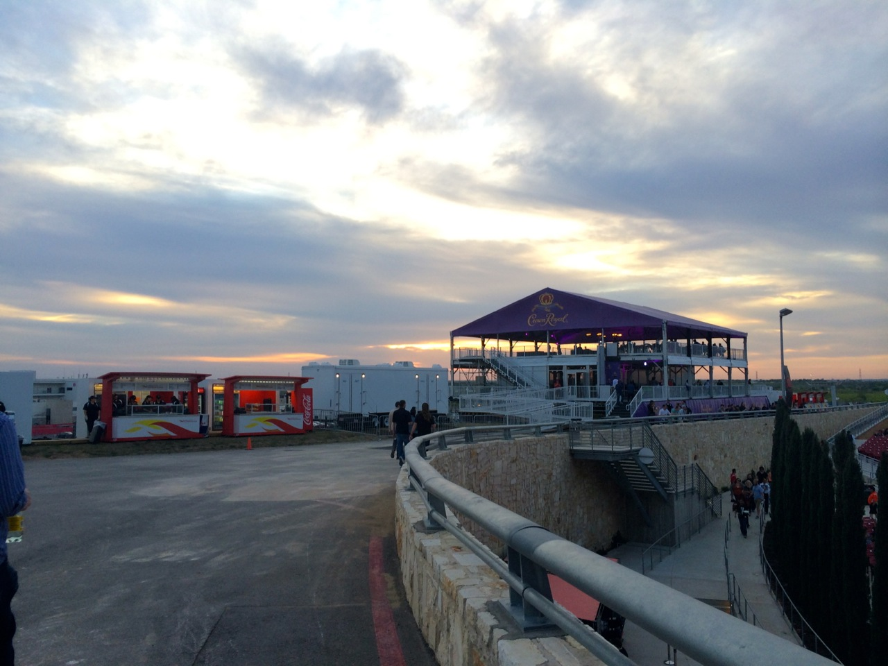 Crown Royal COTA Tent ... & Crown Royal Tasting at Circuit of the Americas - A Time To Kale