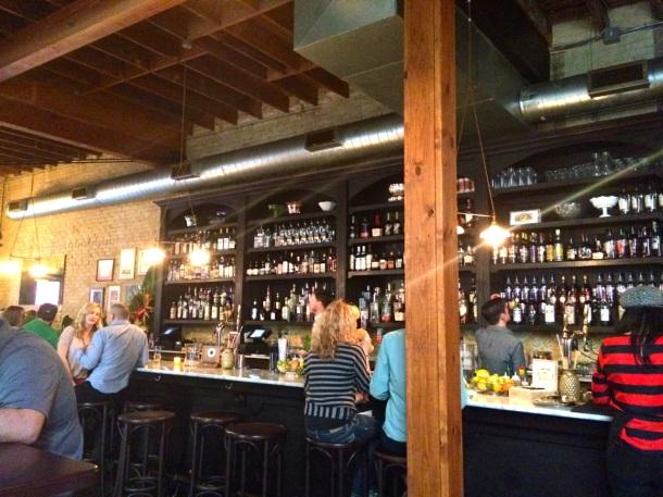 Pleasant Storage Room Bar Area