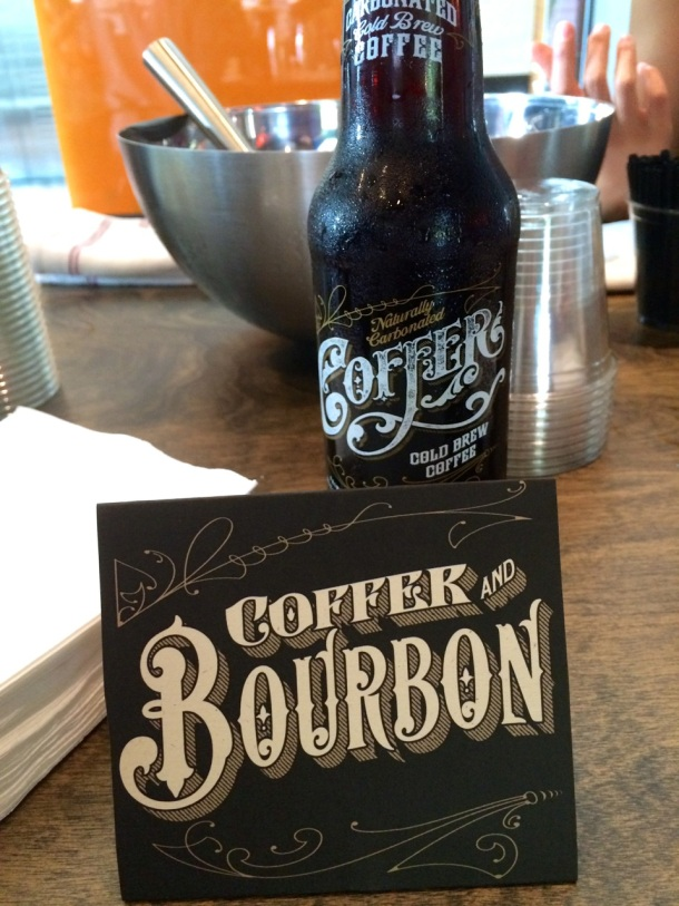 Coffer Cold Brew Coffee Austin with Bourbon