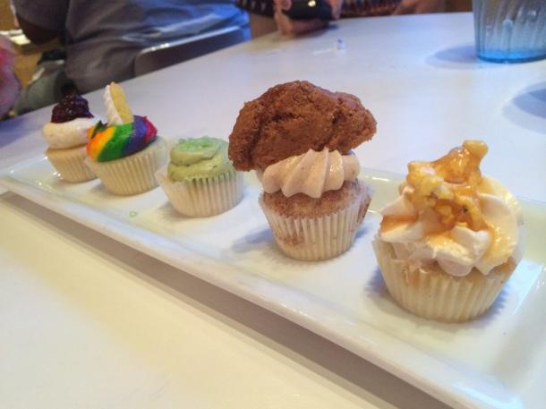 Lucky Robot Austin Cupcakes Dessert