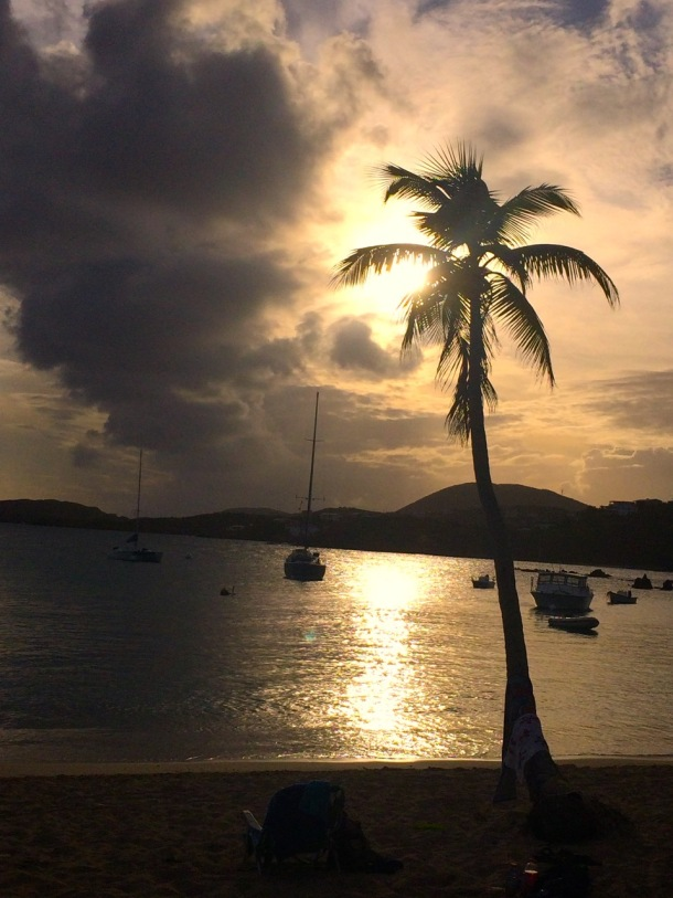 Secret Harbor Sunset St. Thomas USVI