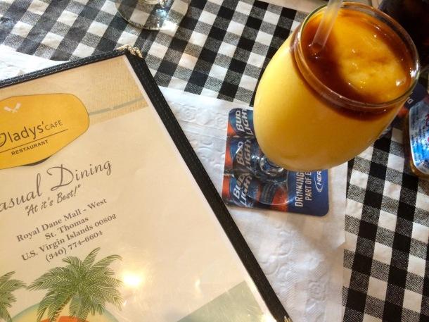 Gladys Cafe St. Thomas USVI Charlotte Amalie