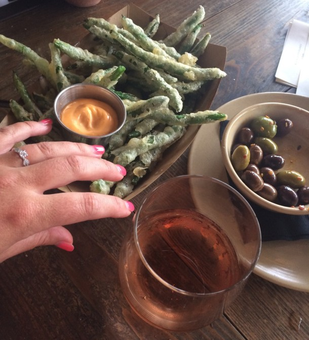 Contigo Austin Happy Hour Green Beans