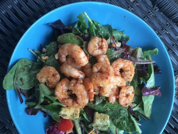 Hot and Spicy Shrimp Salad | A Time to Kale
