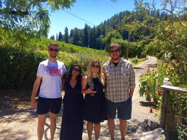 Sonoma Wine Tasting   California Wine Country   Porter Creek Vineyards