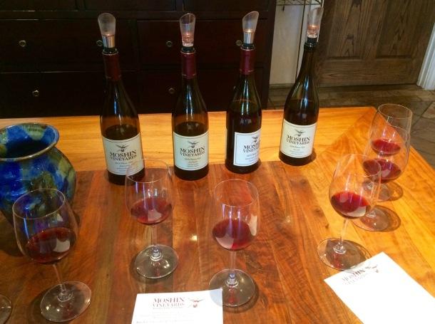 Sonoma Wine Tasting   California Wine Country   Moshin Vineyard