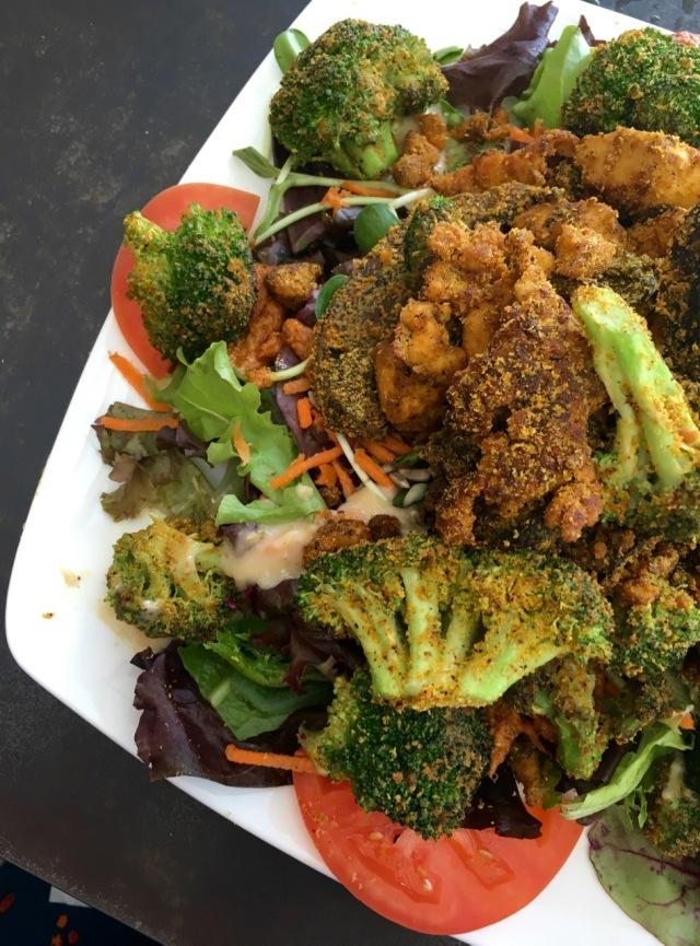 Tarzen's Big Salad Bouldin Creek Cafe