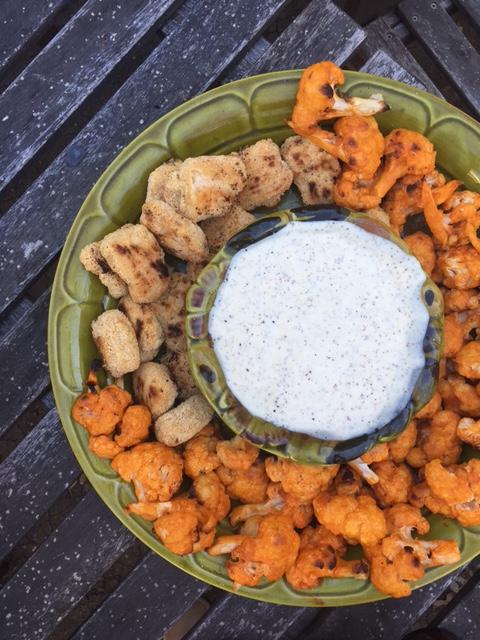 Buffalo Cauliflower   Healthy Super Bowl Snack