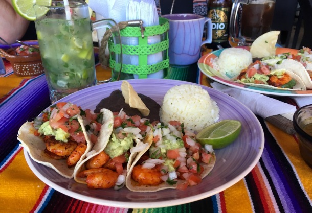 La Coqueta Shrimp Tacos in Tulum | A Time to Kale