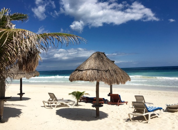 Tulum Beach View | A Time to Kale