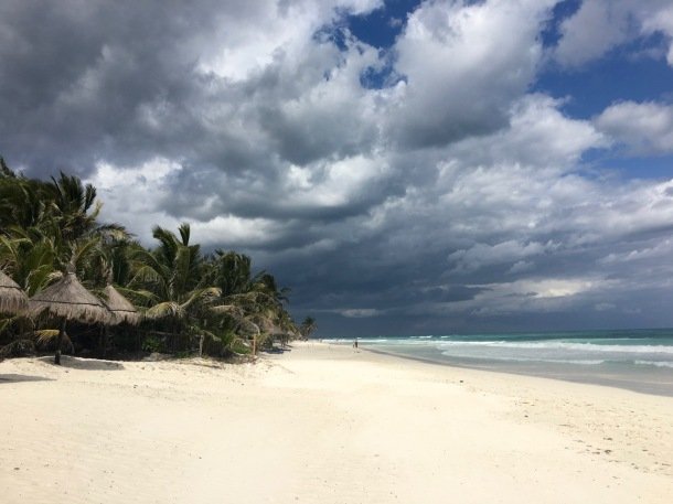 Tulum Beach | A Time to Kale