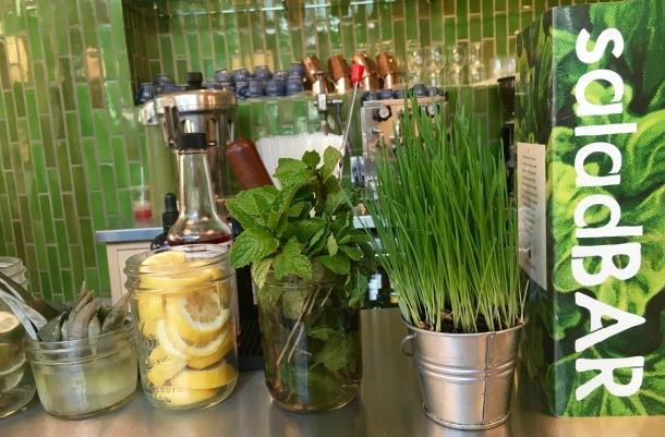 Vinaigrette Austin SaladBar | A Time to Kale