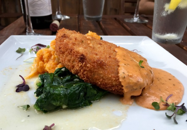 Pork Loin at Jobell Cafe and Bistro in Wimberley, TX | A Time to Kale